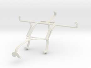 Controller mount for Xbox 360 & Oppo R819 in White Natural Versatile Plastic