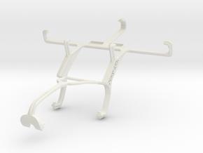 Controller mount for Xbox 360 & Panasonic Eluga DL in White Natural Versatile Plastic