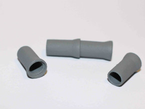 """N Sewer pipe """"ø1000mm"""" 4pc in White Natural Versatile Plastic"""