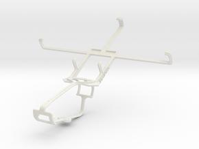 Controller mount for Xbox One & Pantech Vega No 6 in White Natural Versatile Plastic