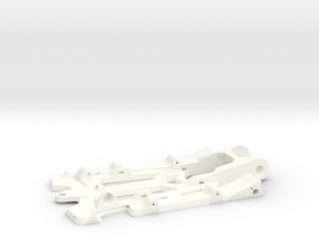 """888sr xl - 1/24 racer chassis 4.5"""" wb in White Processed Versatile Plastic"""