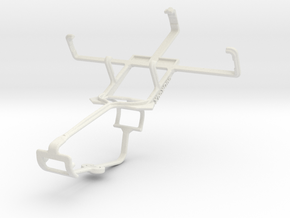 Controller mount for Xbox One & Philips W820 in White Natural Versatile Plastic