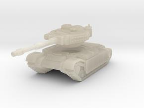 Pilgrim T-101 Heavy Tank in White Acrylic
