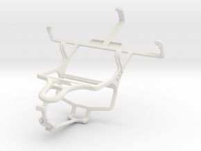 Controller mount for PS4 & Samsung Galaxy Ace Duos in White Natural Versatile Plastic