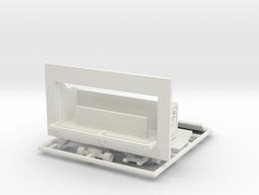 """""""Orgelwagen"""" - 1:220 or 1:160  in White Natural Versatile Plastic: 1:220 - Z"""