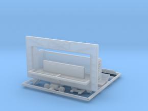 """""""Orgelwagen"""" - 1:220 (z scale) in Smooth Fine Detail Plastic"""