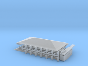 Autoscooter Grundbausatz für 1:220 (z scale) in Smooth Fine Detail Plastic