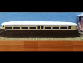 GWR Railcar #1 - N - 1:148 in Frosted Ultra Detail