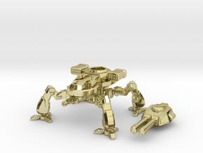 Terran Artillery Walker in 18K Gold Plated
