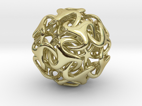 Medusa Ball 38mm in 18K Gold Plated