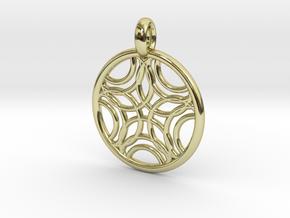 Sponde pendant in 18K Gold Plated