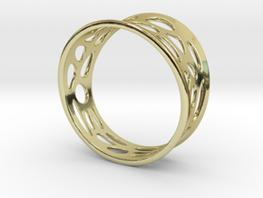 Ringometric A in 18K Gold Plated
