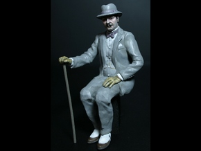 7/8th scale Plump Belgian in Smooth Fine Detail Plastic
