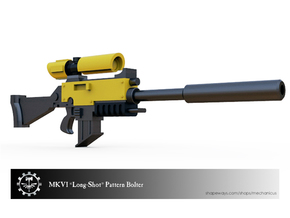 "MKVI ""Long-Shot"" Bolter in Smooth Fine Detail Plastic"