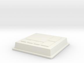 Chip V10 in White Natural Versatile Plastic