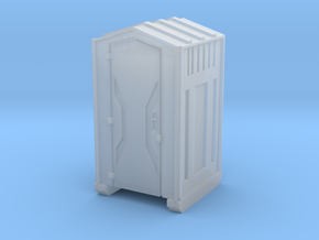 Z Scale Portable Toilet in Frosted Ultra Detail