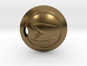 Mach 5 keychain in Natural Bronze