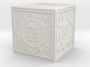 Jedi Holocron 3 in White Natural Versatile Plastic