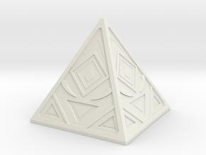 Sith Holocron 3 in White Natural Versatile Plastic