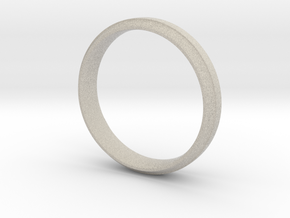 Simple Ring in Natural Sandstone