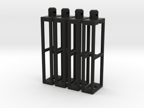 Short Stilt Pack in Black Natural Versatile Plastic