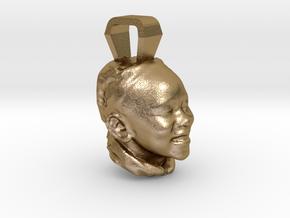 BOOM Jan Charm in Polished Gold Steel