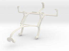 Controller mount for Xbox 360 & Sony Xperia tipo d in White Natural Versatile Plastic