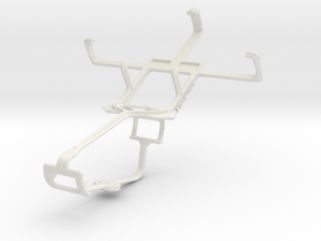 Controller mount for Xbox One & Sony Xperia tipo in White Natural Versatile Plastic