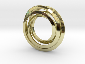 Spiro 3Cm in 18K Gold Plated