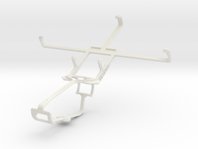 Controller mount for Xbox One & Spice Mi-530 Stell in White Natural Versatile Plastic