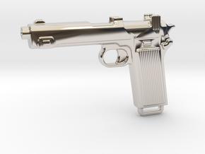 STEYR 9 GUN in Platinum