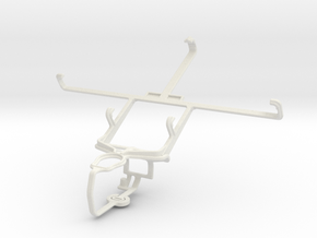Controller mount for PS3 & Spice Mi-550 Pinnacle S in White Natural Versatile Plastic