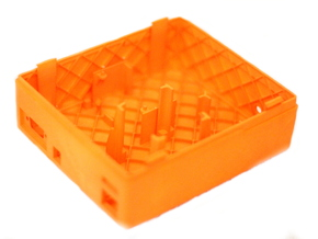 CarPC Case in Orange Processed Versatile Plastic