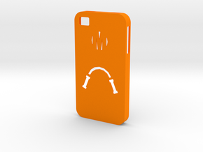 Mikey Case (iPhone 4S) in Orange Processed Versatile Plastic