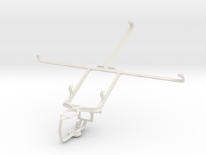 Controller mount for PS3 & Toshiba Excite 7.7 AT27 in White Natural Versatile Plastic