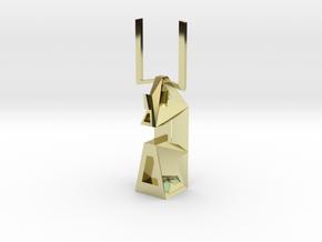 Moai di Allontanatevi in 18K Gold Plated