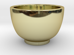Coffee Cup in 18K Gold Plated