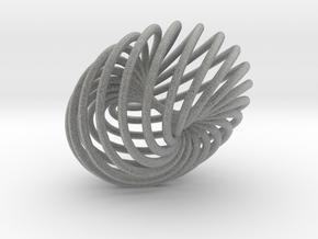 Knot 5  in Metallic Plastic