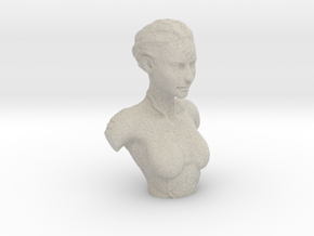 Kasumi Bust in Natural Sandstone