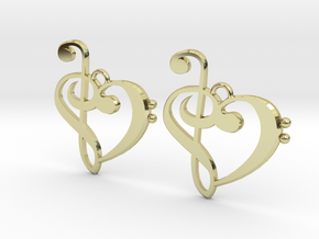 Musical Heart Premium in 18K Gold Plated