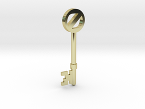 Return To Oz Key in 18K Gold Plated