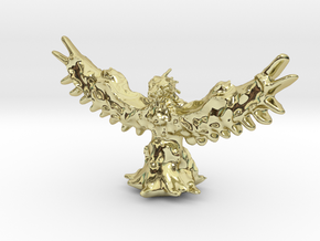 Phoenix Miniature in 18K Gold Plated