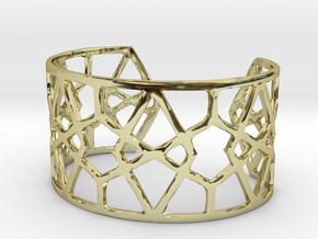 Egyptian Cuff Bracelet in 18K Gold Plated