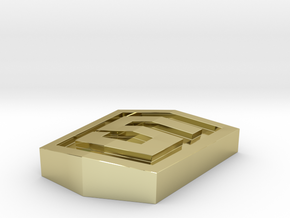 Html5 Logo in 18K Gold Plated