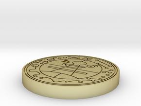 Seal of Solomon 28mm base in White Natural Versatile Plastic