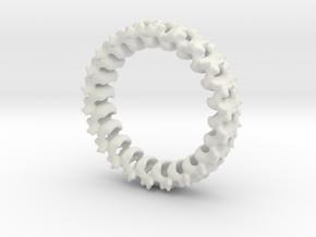 Spline in White Natural Versatile Plastic