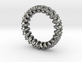 Spline in Natural Silver