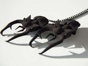stag beetle in Black Natural Versatile Plastic