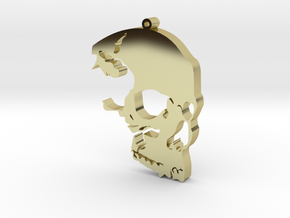 The Skull Rules in 18K Gold Plated