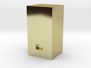 Soda Machine- HO Scale in 18K Gold Plated